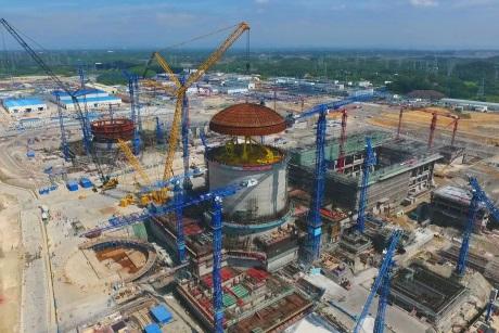 Fangchenggang 3 dome installation - 460 (CGN)