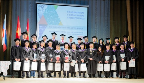 First group of Vietnamese graduates - 460 (Mephi)