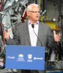 Gordon Campbell announces ARIEL funding (Government of British Columbia)
