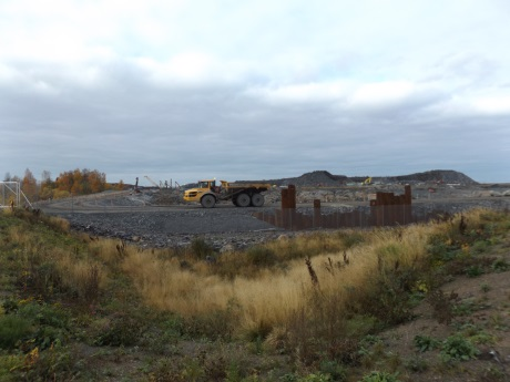 Hanhikivi site works - October 2017 - 460
