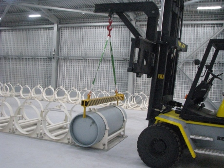 IAEA LEU FUel Bank, how LEU will be stored inside, August 2017 (NTI) 460x345