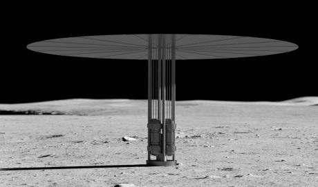 Kilopower on the moon - 460 (NASA)
