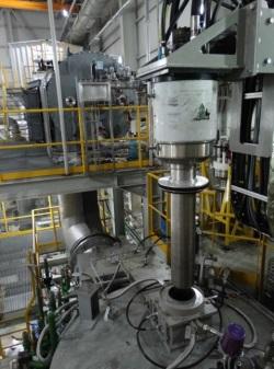 Kozloduy plasma melting facility - 250 (Belgoprocess)