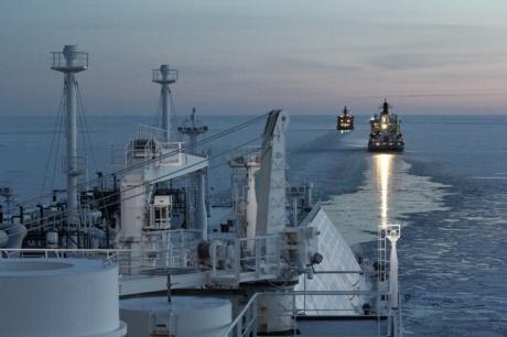 LNG shipment, November 2012 (Gazprom) 460x306