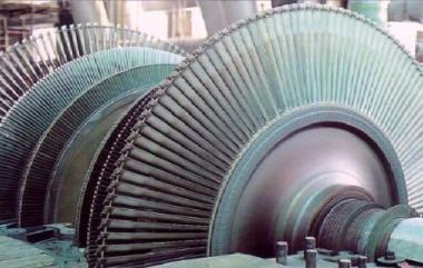 LP turbine at Dukovany (CEZ)