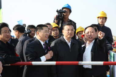Li Keqiang at Fuqing inauguration (CNNC)