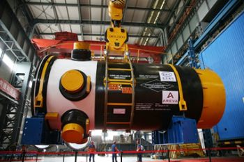 Ling Ao Phase II unit 3 reactor pressure vessel (CGNPC)