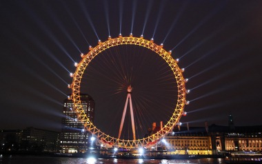 London Eye, January 2011 (EDF Energy)