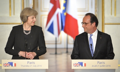 May and Hollande, 21 July 2016 (Tom Evans - Crown Copyright)_460x248