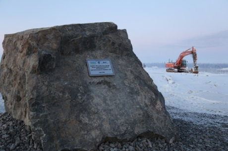 Memorial stone laid at Hanhikivi 1 - 460 (Rosatom)