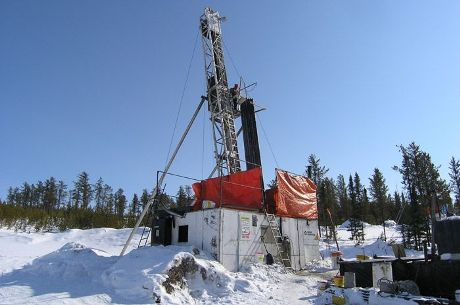 Millennium winter drilling (Cameco)