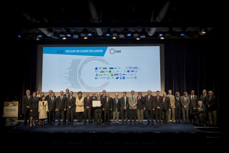 Nuclear for Climate declaration signing - 460 (SFEN)