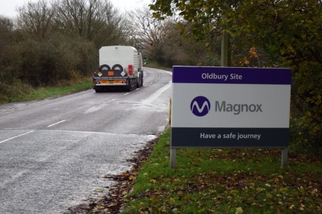 Oldbury used fuel goes to Sellafield - 460 (Magnox)