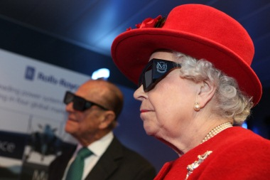 Queen Elizabeth II at NAMRC