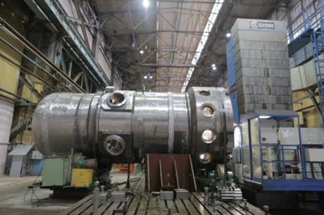 russia speeds up manufacture of icebreaker reactor world nuclear news