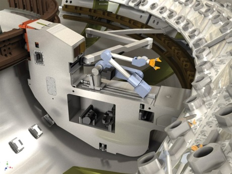 Remote handling system for ITER divertor 460 (Assystem)
