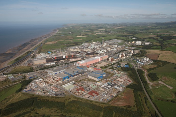 Sellafield Site Aerial Sept 09