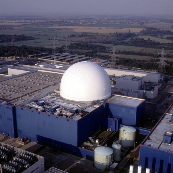 Sizewell B - aerial