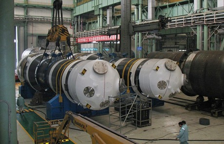 Steam Generator in Nuclear Power Plant Nuclear Power Plant Site
