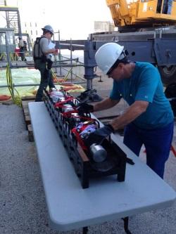 Surveyor robot checks pipework