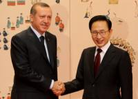 Erdogan and Lee (Image: Korean Presidency)
