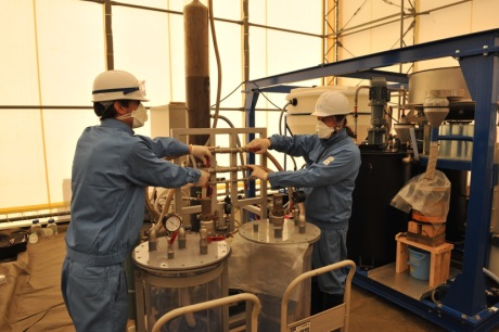 Testing of French soil decontamination process in Fukushima - 460 (J-L Sida_CEA)