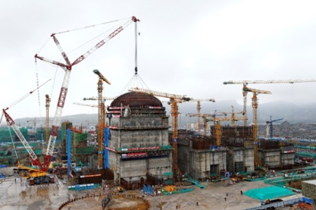 Tianwan 5 dome installation - 460 (CNNC)