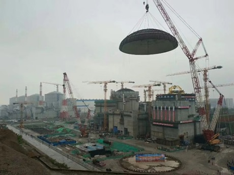 Tianwan 6 dome installation - 460 (CNEC)