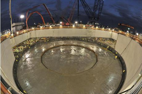 Vogtle 4 basemat 460 (Georgia Power)