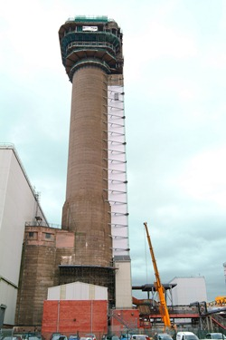 Windscale pile chimney 1 - 250 (Sellafield Ltd)