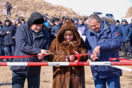 Zhdanova launches Mine No6 - 460 (Rosatom)
