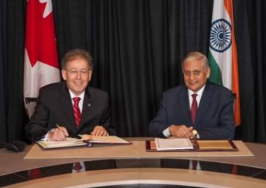 Canada-India appropriate arrangement (CNSC)_380