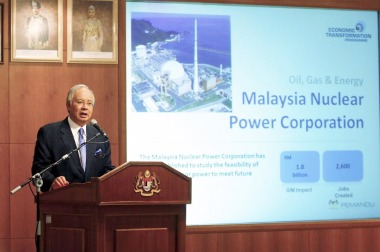 Malaysian prime minister Jan 2011