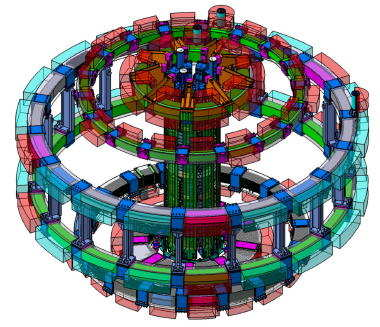 ITER poloidal field coil system (Courtesty of ITER)